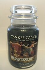 YANKEE CANDLE PATCHOULI WAX CANDLE 22 OZ. ORIGINAL SCENT