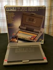 Vintage TeamConcepts Super Computer Electronic Learning Game WORKING