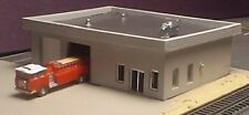 MODERN FIRE STATION - Z-110 - Easy to build Z Scale kit by Randy Brown