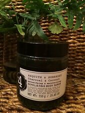 Asquith & Somerset Charcoal and Coconut Detoxifying Moist Salt Scrub 19.4 OZ