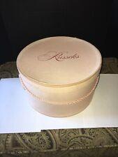 Vintage Pink Hat Box