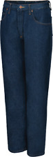 New Red Kap MEN'S RELAXED FIT Blue Jeans size W12 L 34 U