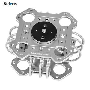 Selens Shock Absorber Vibration Isolator for Car Suction Cup & Gimbal Stabilizer