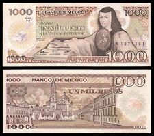 Méjico - Mexico 1000 Pesos  19-7-1985  Pick 85(11)  (Serie YF) EBC = XF (Imagen)