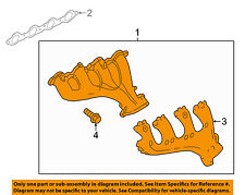 GM OEM-Exhaust Manifold 12648339