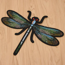 Big Dragonfly Iron on Patches for Clothing Embroidery DIY Applique Badges Brooch