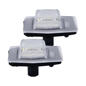 2x LED License Number Plate Light Lamp Fit for Ford Escape Mazda Mercury Mariner