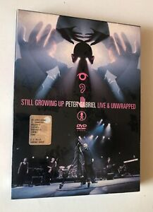 DVD PETER GABRIEL STILL GROWING UP LIVE & UNWRAPPED REALWORLD SIGILLATO SEALED
