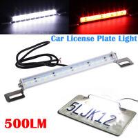 Universal Weiß/Rot 30-SMD LED Lamp für Nummernschild Bremse Backup oder Nebel DE