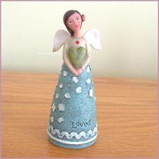 JULY BIRTHDAY WISH ANGEL FIGURE BY KELLY RAE ROBERTS FREE U.S. SHIPPING