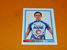 N°114 T. ROMINGER MAPEI MERLIN GIRO D'ITALIA CICLISMO 1995 CYCLISME PANINI TOUR