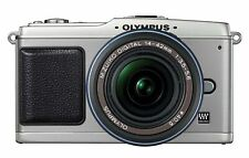 Olympus PEN E-P1 12 MP Digital Camera with 14-42mm f/3.5-5.6 lens Silver