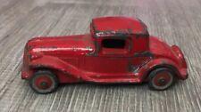 "Vintage Red Slush Car Barclay? Kansas? 3"" Ford Model A Coupe"