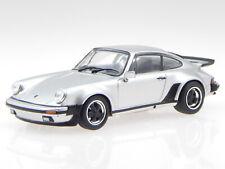 Porsche 911 930 Turbo silver G-model 1975 diecast modelcar Atlas 1:43