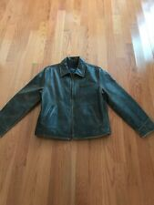 American Eagle Outfitters Leather Coat Size M