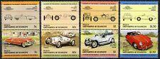 St. Vincent Grenadines - Bequia 1984, Cars, Automobiles, 1st set, 8v 4 pairs MNH