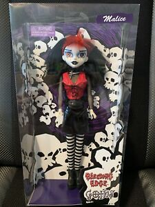 NIB Rare Vintage Collectible Bleeding Edge Goths Doll Malice Red Bang Variant
