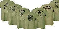 Recto-Verso Imprimé Armée Vert Olive T-Shirt - ) Hmrcidée Para Reme Rgr RMC SAS