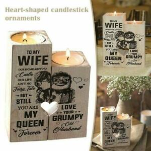 Newly Husband To Wife -You Are My Queen Forever - Candle Holder With Candle Gift