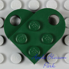 NEW Lego St. Patrick's Day DARK GREEN HEART - Token of Irish Love Valentine