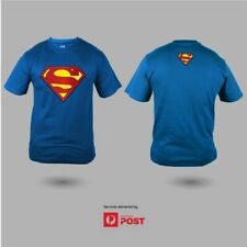 Classic Superman Man of Steel Logo Superhero 100% Premium Cotton Tee T-Shirt