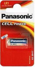 Piles jetables alcalines Panasonic pour équipement audio et vidéo