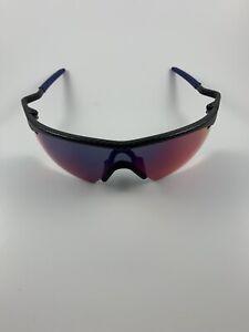 Oakley M Frame Carbon Fiber Positive Red Iridium Strike 06-534 Gen 1 Blue Ear