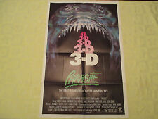 1982 Parasite 3D Demi Moore original! 27x41 1 sheet movie poster FN-
