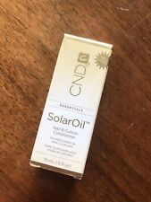 Cnd Solar Oil Mail And Cuticle Conditioner - 0.5oz