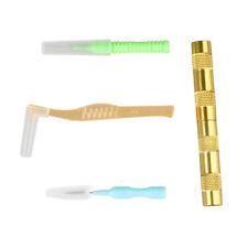 Airbrush Spray Gun Nozzle Cleaning Repair Tool Kit Needle&Brush Set WS W9J8 A7Y7