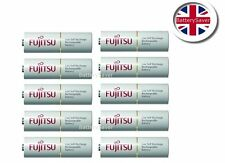 10 x Fujitsu WHITE AA 2000mAh NiMH Low Self Discharge Rechargeable Batteries