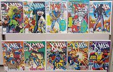 Uncanny X-Men #269,273,294,296,297,298,299,300,301,302 - HIGH GRADE - CGC READY