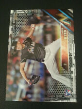 2016 Topps #631 CHRIS REED Marlins RC Black Parallel /65