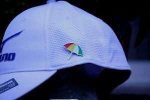 Arnold Palmer Umbrella Lapel Pin - Shipped in Gift Box
