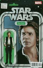 Star Wars #2 (April 2015, Marvel) Han Solo Action Figure Variant. NM Comic