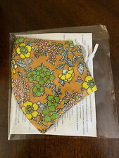 NEW Tory Burch Printed Two Layer Adjustable Moisture Wicking Face Mask