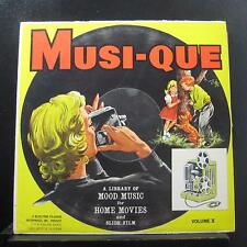 Various - Musi-Que Volume II  Main & End Title Moods LP VG+ BR-1034 Mono Record