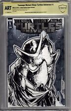 TMNT Universe #1 - CBCS ART - Blank Variant - Adelso Corona Shredder Sketch