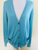 Ann Taylor V-neck Buttondown Cardigan Sweater W/ Pockets Size Small