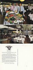 RIVERBAY RESTAURANT NEW YORK ADVERTISING UNUSED OVERSIZED COLOUR POSTCARD