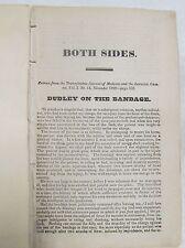 Both Sides  Dudley on the Bandage 1828