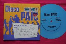 Flexi-disc Vinyle Souple 45T / Disco Paic / Juanita Banana