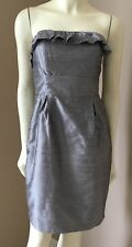 Womens Lula Kate Dupioni Silk Formal Evening Cocktail Party Bridesmaid Dress 2