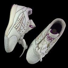 Vtg 80s 90s Asics Gel Cross Plus Running Sneakers Womens 8 Us Retro White