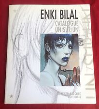 Enki Bilal Catalogue Un/Sur/Un 1991 Le Pythagore Editions Illustrations French