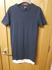 Asos Dark Grey T-Shirt Dress Size S