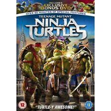 Teenage Mutant Ninja Turtles (DVD, 2014) Plus Bonus DVD NEW SEALED PAL Region 2