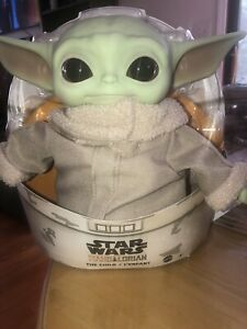BABY YODA Plush THE CHILD Mandalorian Star Wars 11 inch Mattel Official Disney