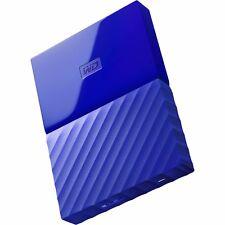 WD 1TB Portable External Hard Drive USB 3.0 Western Digital Blue PS4 XBOX 1 .