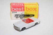 ( BEST BOX BESTBOX 2514 MERCEDES BEMZ MERCEDES-BENZ 230 SL 230SL WHITE VNM BOXED